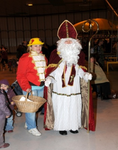 animation Saint Nicolas en déambulation