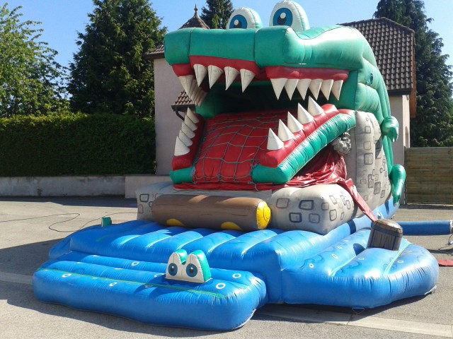 Crocodile toboggan