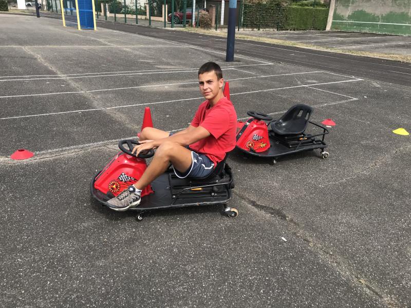 Kart drift