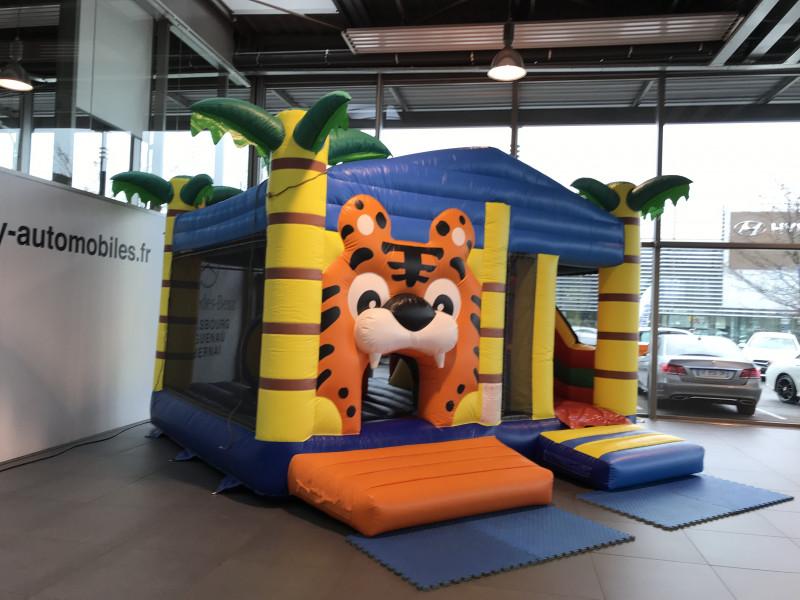 Multiplay tigre (avec toit)