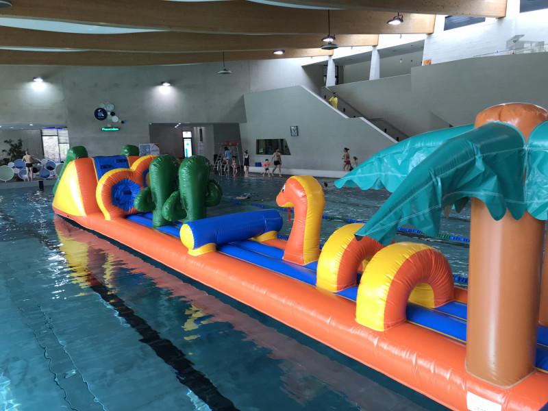parcours piscine tropical