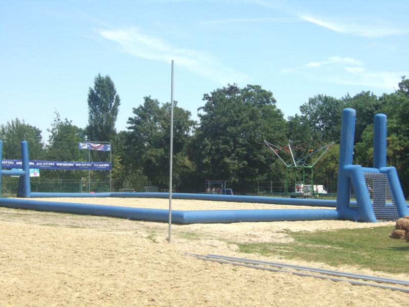 Terrain de beach rugby